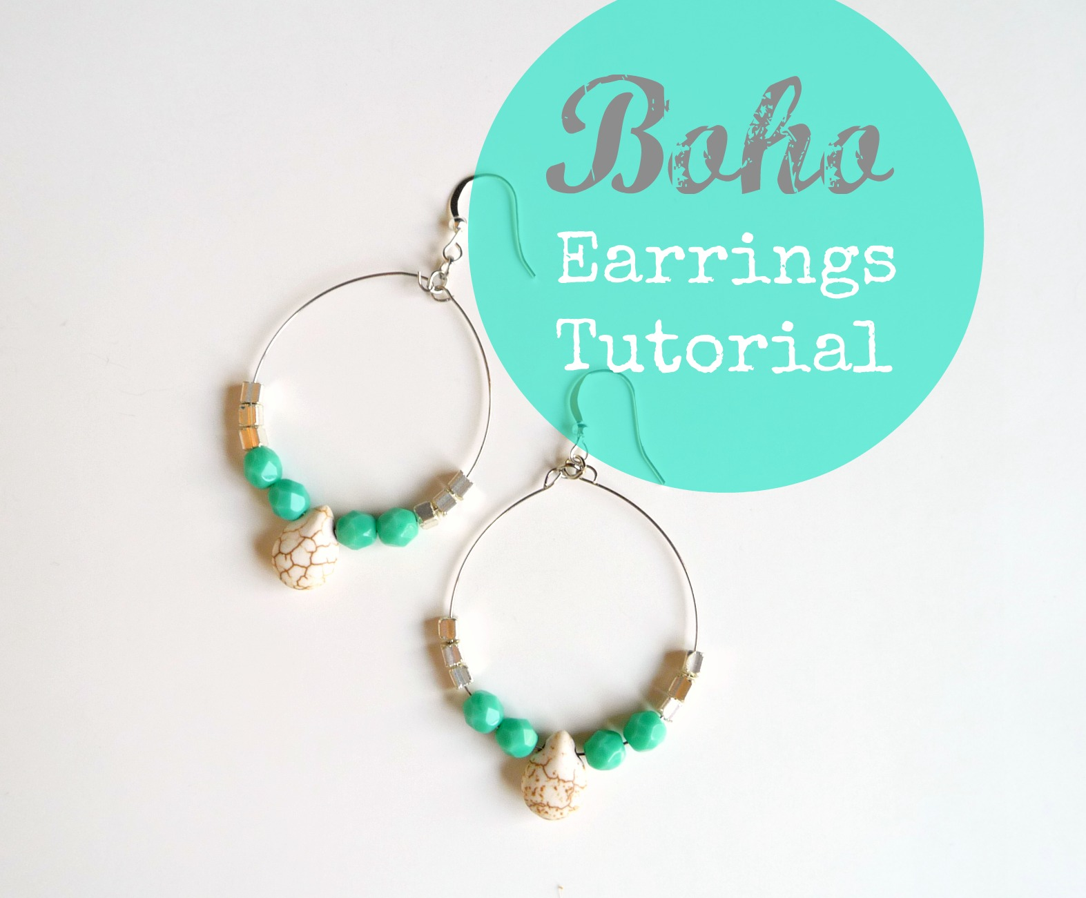 boho earrings jewelry tutorial