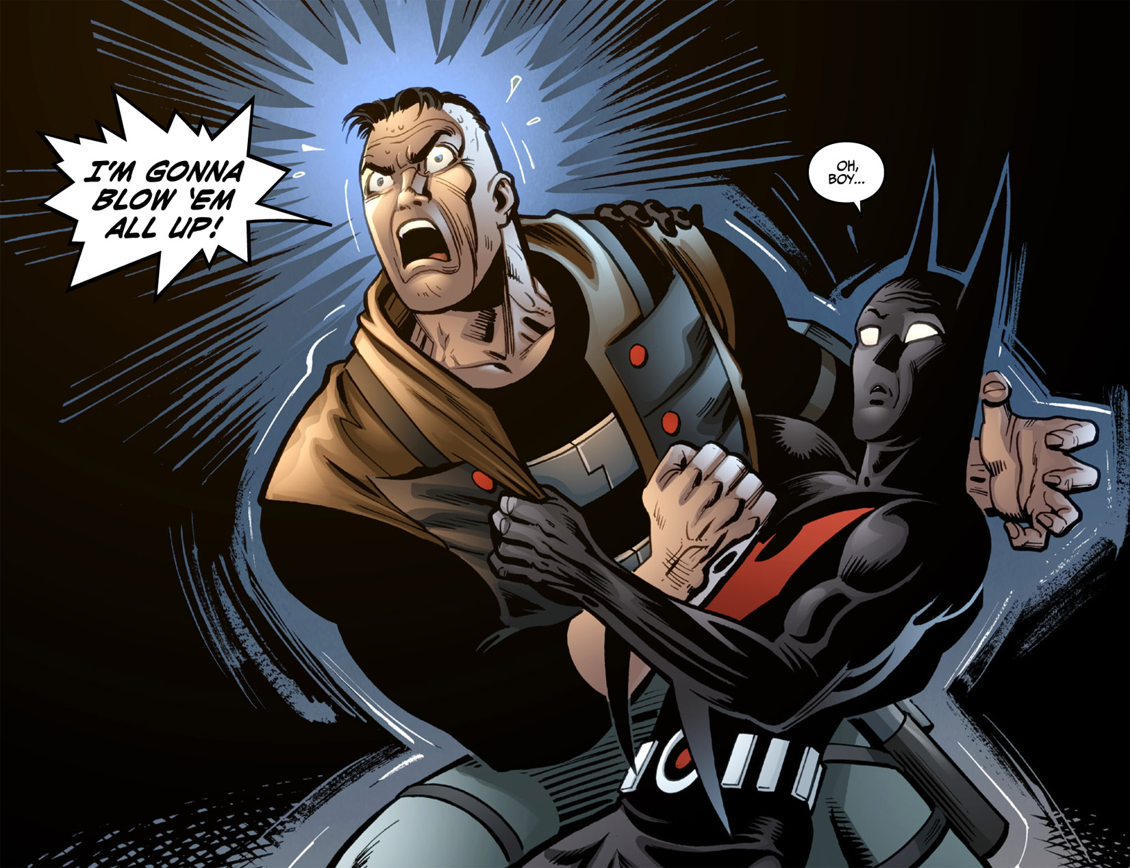 Batman Beyond (2012) Issue #4 #4 - English 21