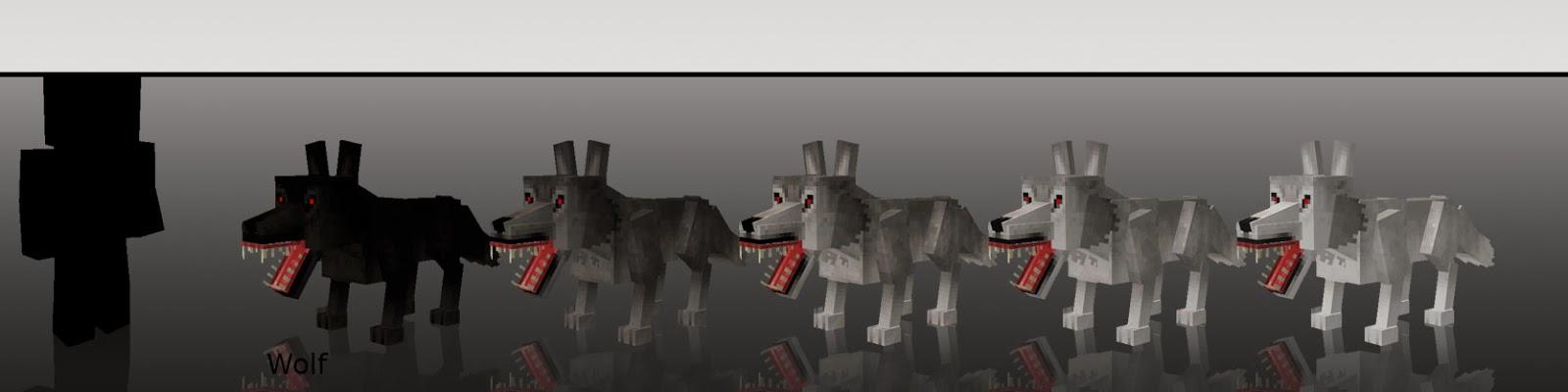 Mo' Creatures lobos Minecraft mod