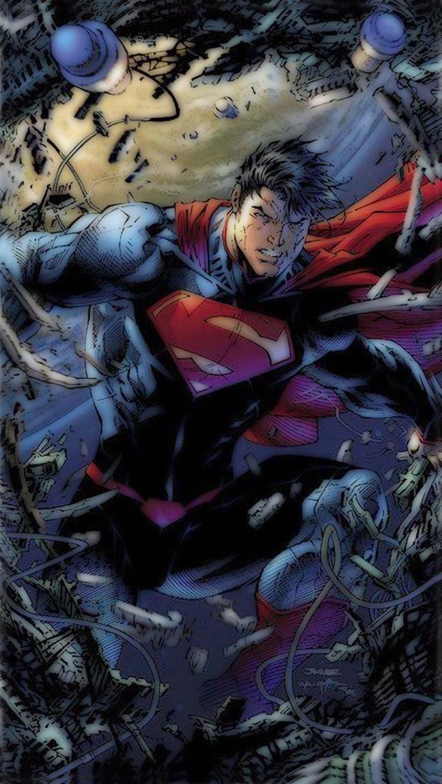 Superman Iphone Wallpaper 5