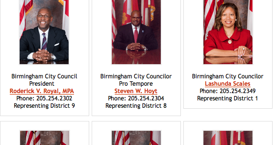 Payday birmingham city council