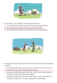 Respuestas Apoyo Primaria Español 2do grado Bloque 1 lección 12 Palabras desconocidas de la fábula