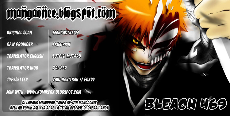 Baca Manga, Baca Komik, Bleach Chapter 469, Bleach 469 Bahasa Indonesia, Bleach 469 Online