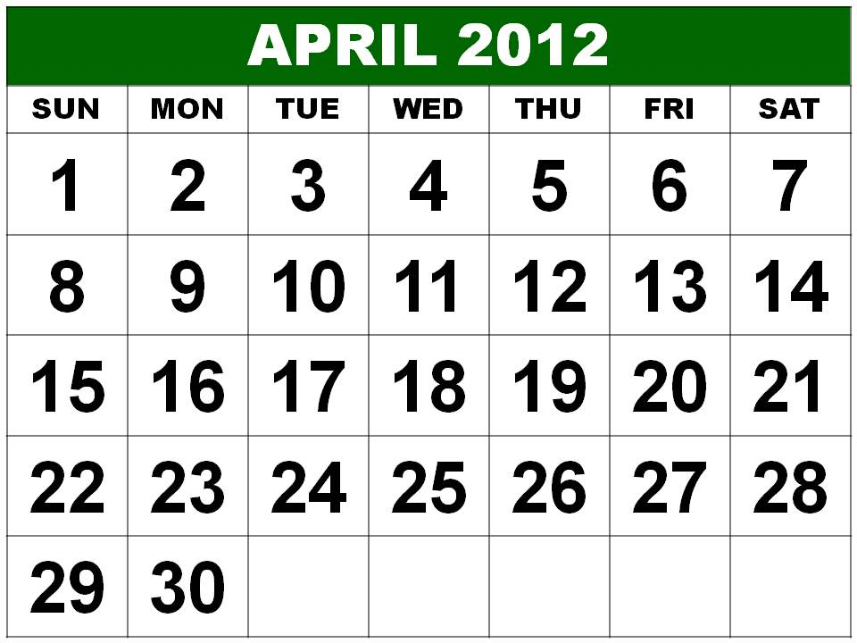 yearly calendar 2012 printable. march 2012 calendar
