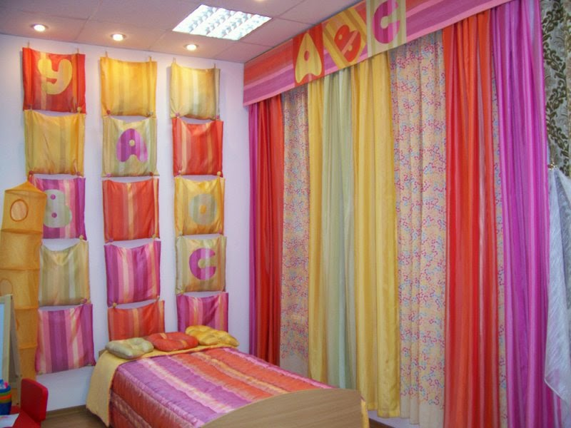 Curtains Design For Children Room