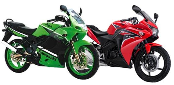 Ninja 150rr vs New CBR150r