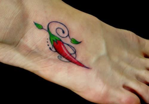 Tatuagens de Pimenta