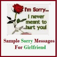 Apology message to girlfriend for hurting her