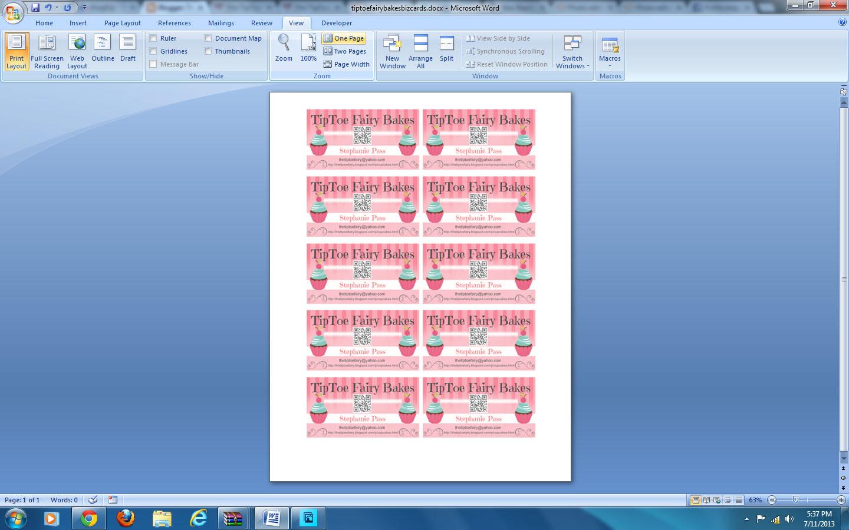 Fine Program To Make Business Cards Ideas - Business Card Ideas ...