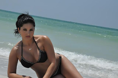 Actress Sunny Leone Hot Bikini Stills
