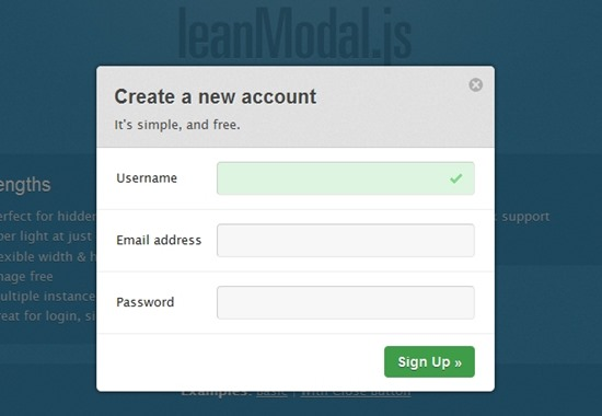 15 cool jQuery modal plugins