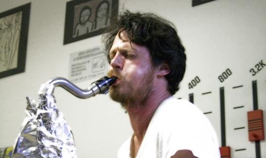 Arrington de Dionyso, live, performance, exhibition, mostra, milano, serendeepity, discosafari
