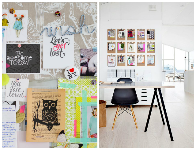 moodboard inspiration workspace