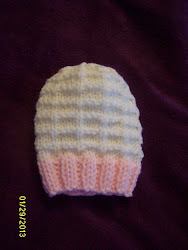 Open Blind Baby Hat