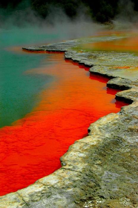 Waiotapu Thermal Reserve, Rotorua, New Zealand: