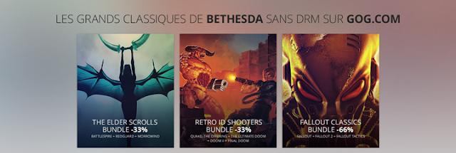 Bethesda Softworks sans DRM sur GOG.com
