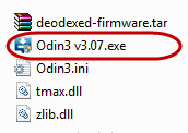 aplikasi Odin3