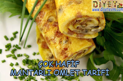 diyet omlet