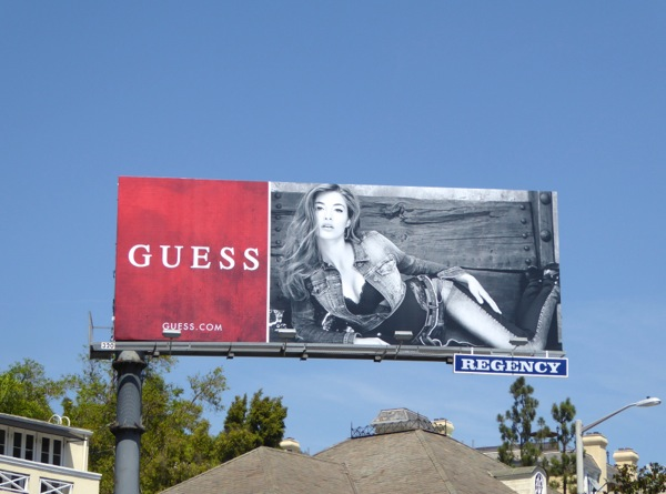 Guess FW 2015 fashion billboard
