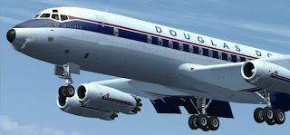 JustFlight DC-8 external!