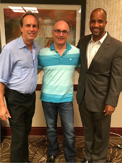 Skip Weisman with 1999 WorldChampion of Public Speaking Craig Valentine, and Marketing Expert Mitch Myerson, at the World Class Speaking Coaches conference