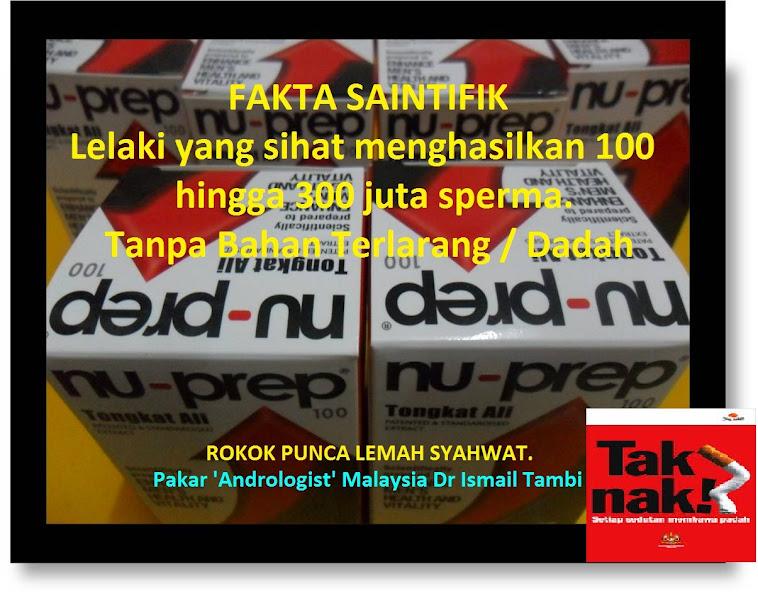 Pakar Andrologist Malaysia Dr Ismail Tambi LELAKI YANG SIHAT MENGHASILKAN 100-300 JUTA SPERMA