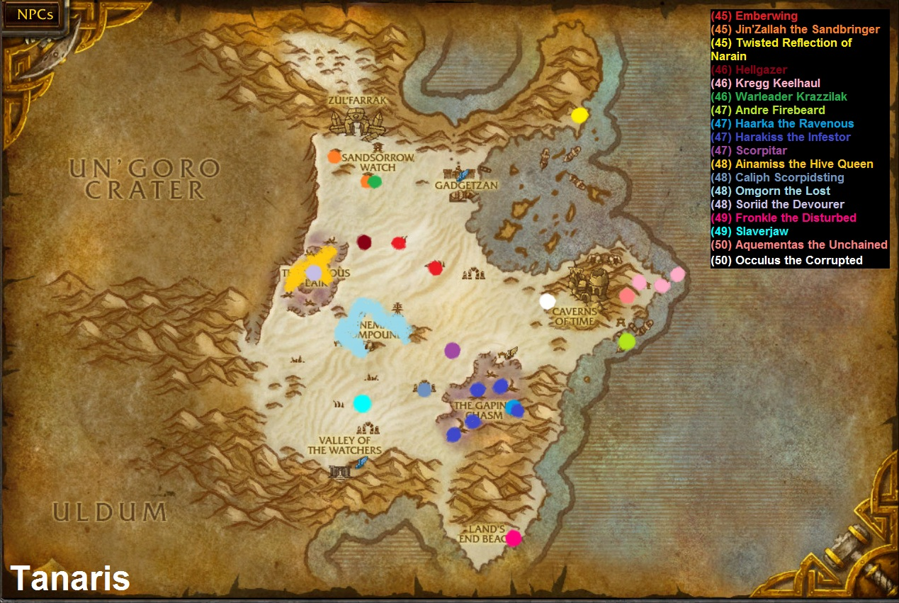 The Cape Of Stranglethorn Map
