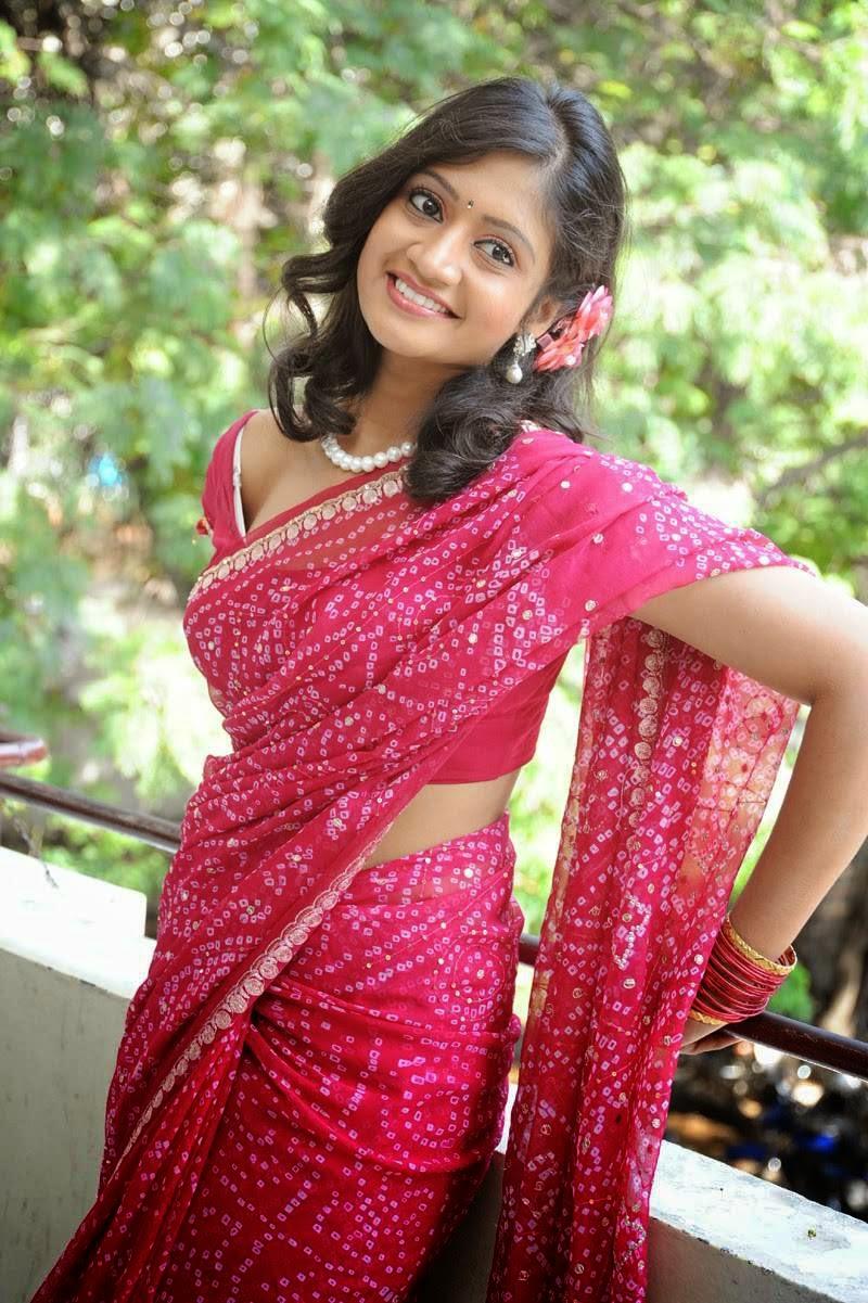 Sandeepthi at Sri Vasavi Kanyaka Parameswari Charita Movie Press Meet