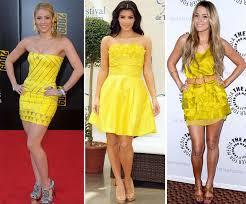 modelo de vestido amarelo para reveillon - dicas e fotos