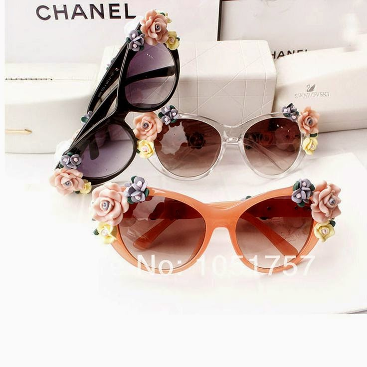 Óculos de sol da Chanel