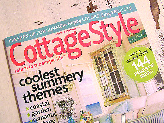 Cutepinkstuff and more it 39 s here for Cottage home magazine