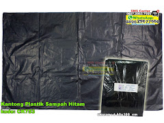 Kantong Plastik Sampah Hitam