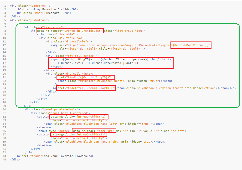 How to Design an AngularJS SPA with CRUD operations for OData RESTful Web API          3