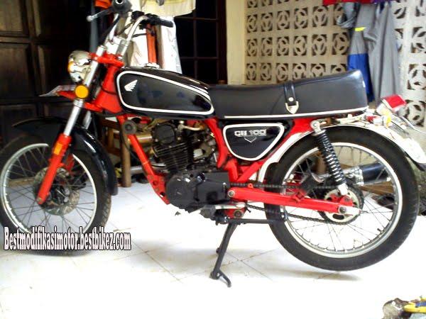 Honda GL Pro Modif CB