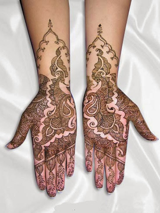 Bridal Hands With Mehndi : Best mehndi designs dulhan for hands free