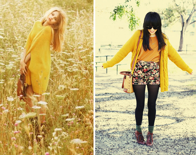Yellow outfit inspiration