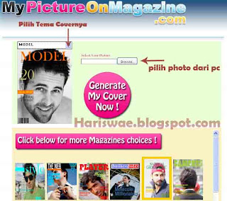 edit photo magazine cover