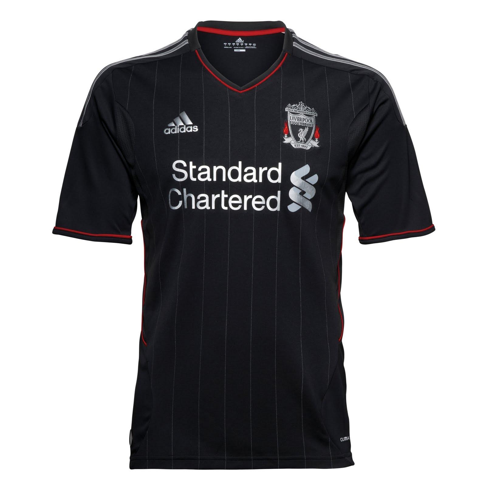 Maillot Domicile Liverpool noir
