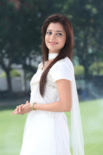 Nisha Agarwal Latest Pictures Gallery in White Sal Kameez 0002.jpg