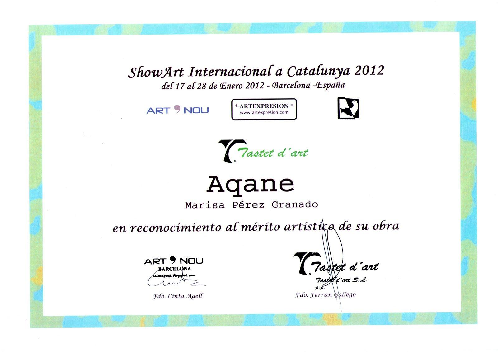 Show Art internacional a Catalunya 2012