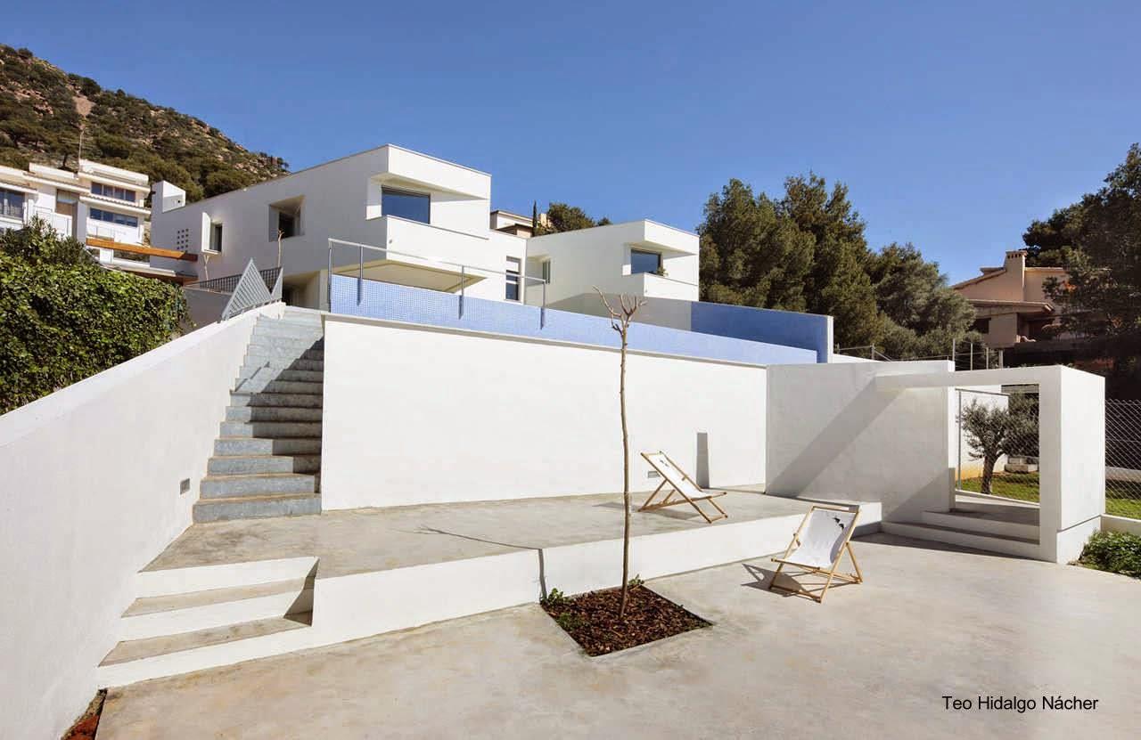 Arquitectura de casas 14 dise os de casas modernas en espa a - Casas minimalistas en espana ...