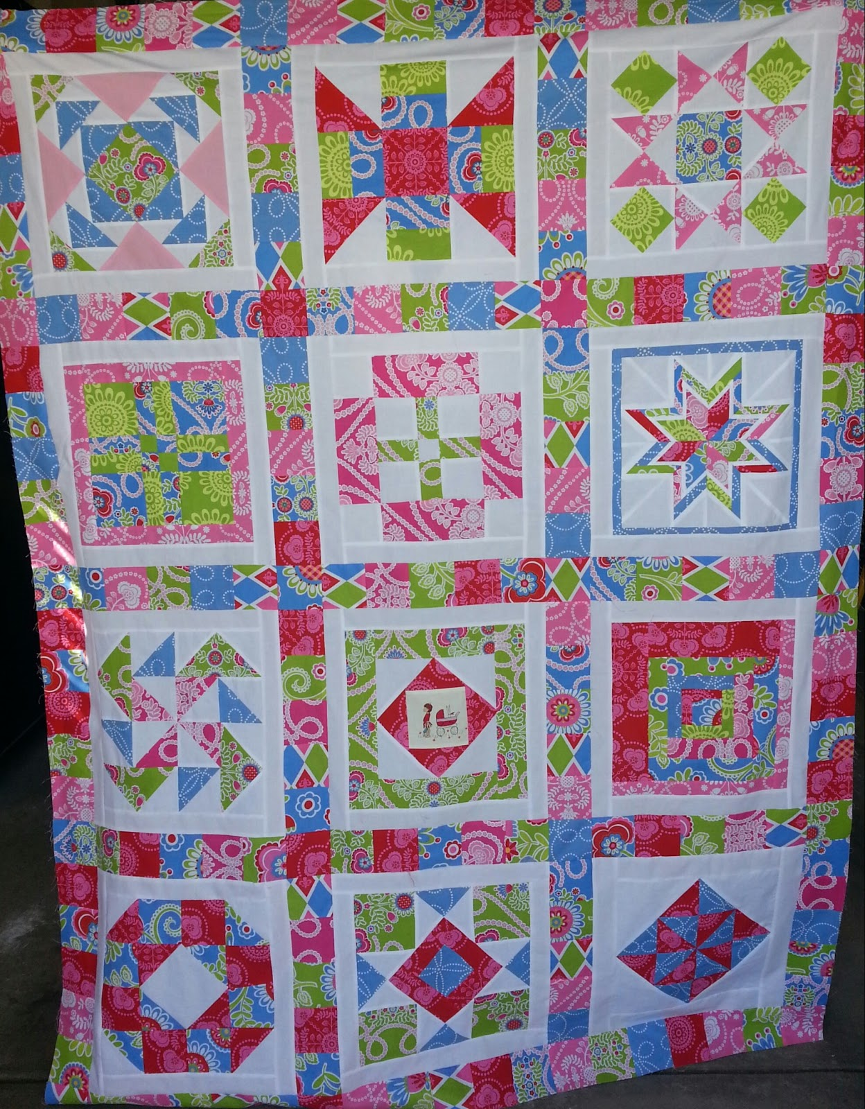 Quilt Patterns Block Of The Month : Quilt Story: Block of the Month: Quilt Tops!