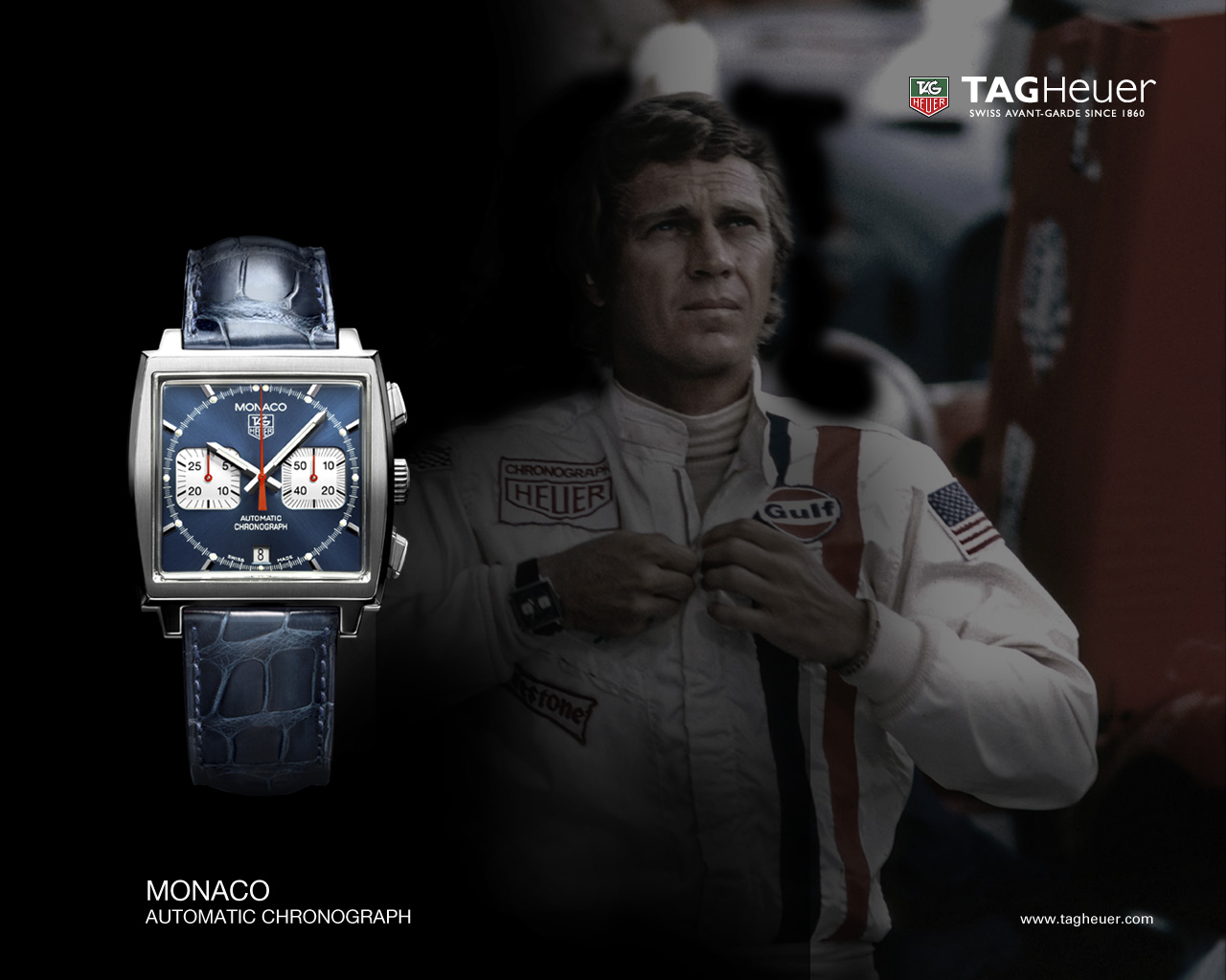world of cigars tag heuer monaco time for a champion. Black Bedroom Furniture Sets. Home Design Ideas