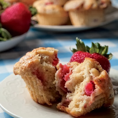 muffins alle fragole / strawberry muffins