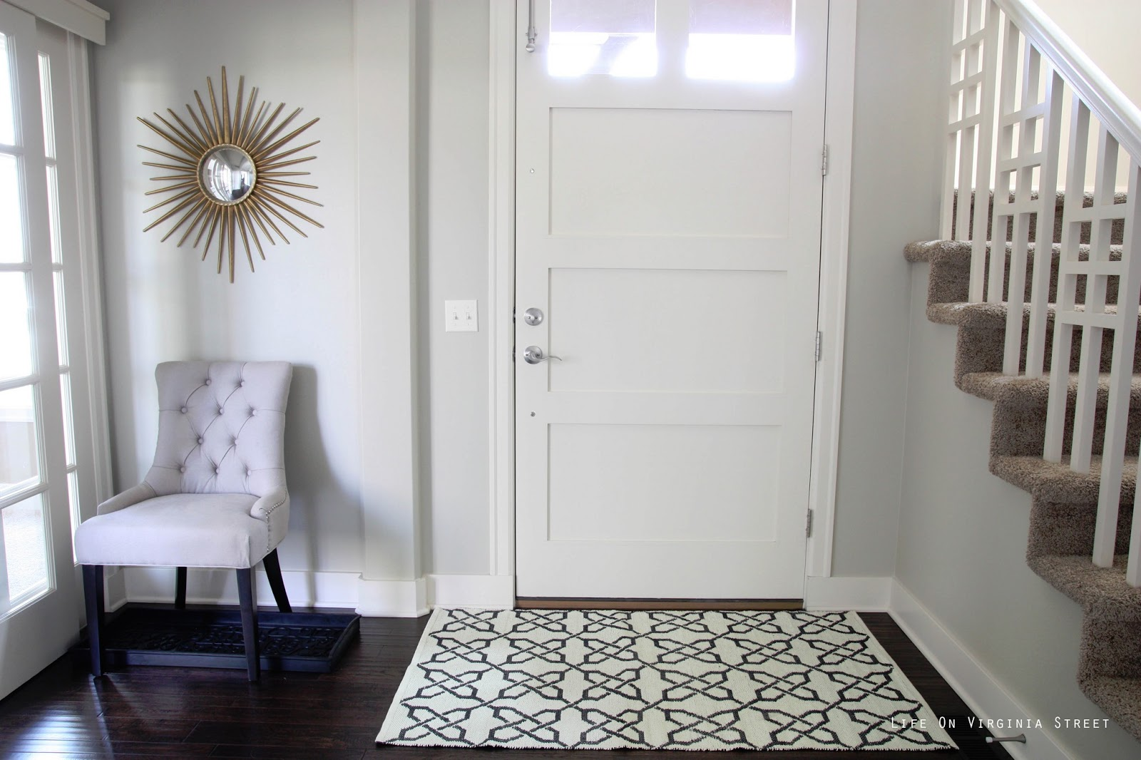 Entryway Foyer Rug : A sunnier entryway life on virginia street