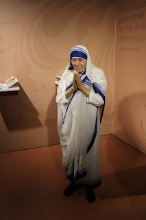 Mother Teresa wax museum