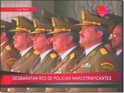 el narcogeneral tomaba posesión de su alto cargo en segunda fila Núñez del Prado