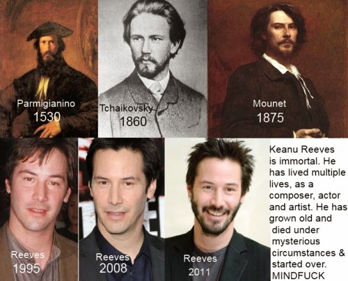 Compelling Evidence that Keanu Reeves is