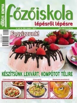 FŐZŐISKOLA - MÁR KAPHATÓ AZ ÚJ SZÁM!!!
