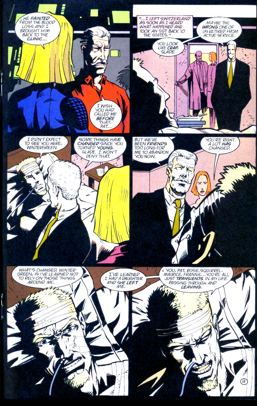 Deathstroke (1991) Issue #60 #65 - English 14